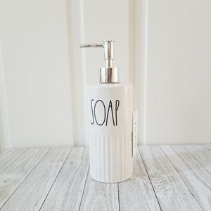 Rae Dunn SOAP Dispenser Bottle